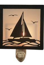 Split Pea Sailboat Night Light