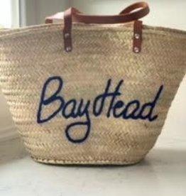 Bay Head Straw Bag