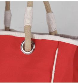 ShoreBags Rope Tote- Red