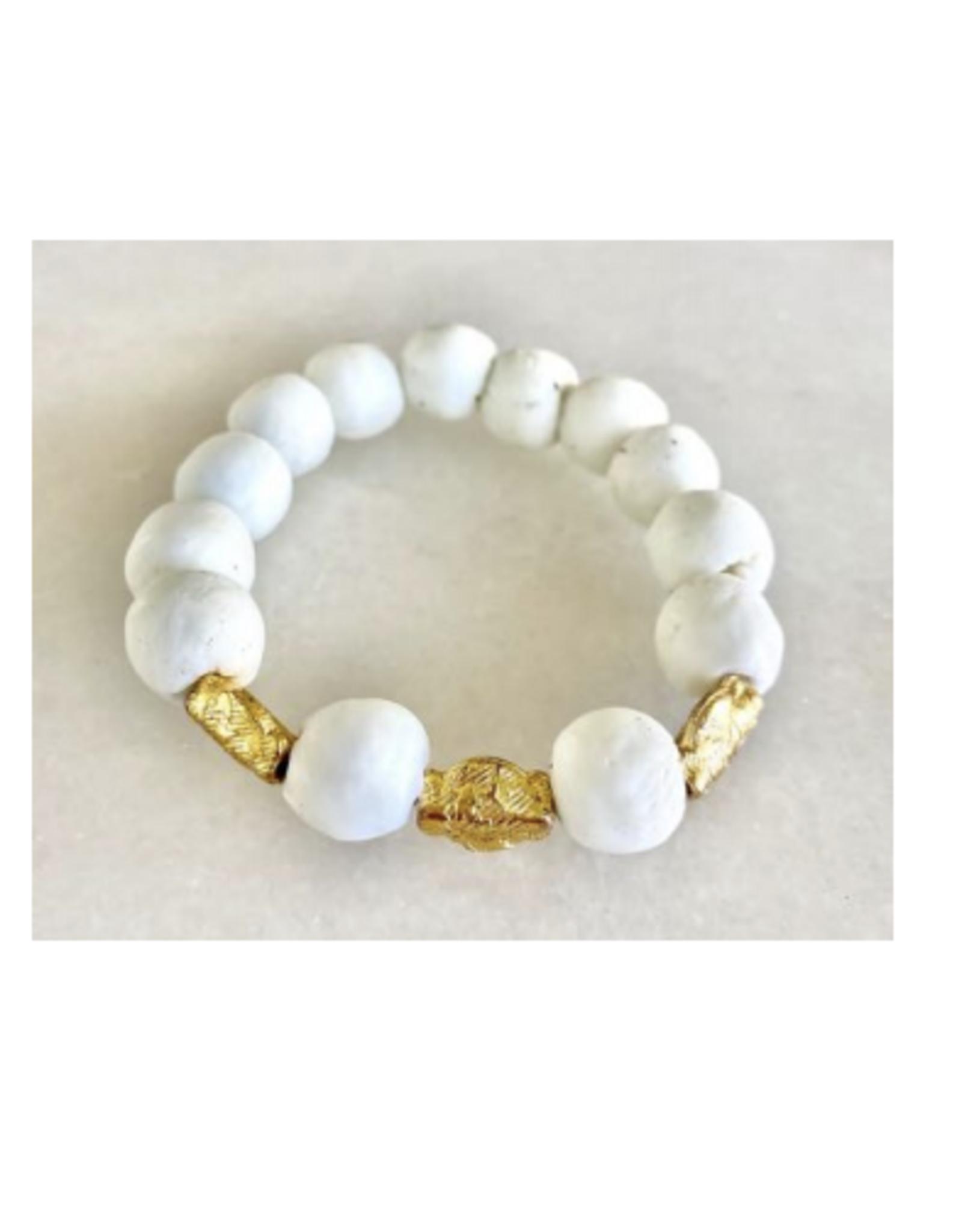 Coastal Grit White Sands Bracelet