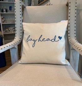 Salt and Fare Bay Head Canvas Pillow