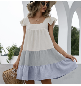 ePretty Multi color sleeveless dress