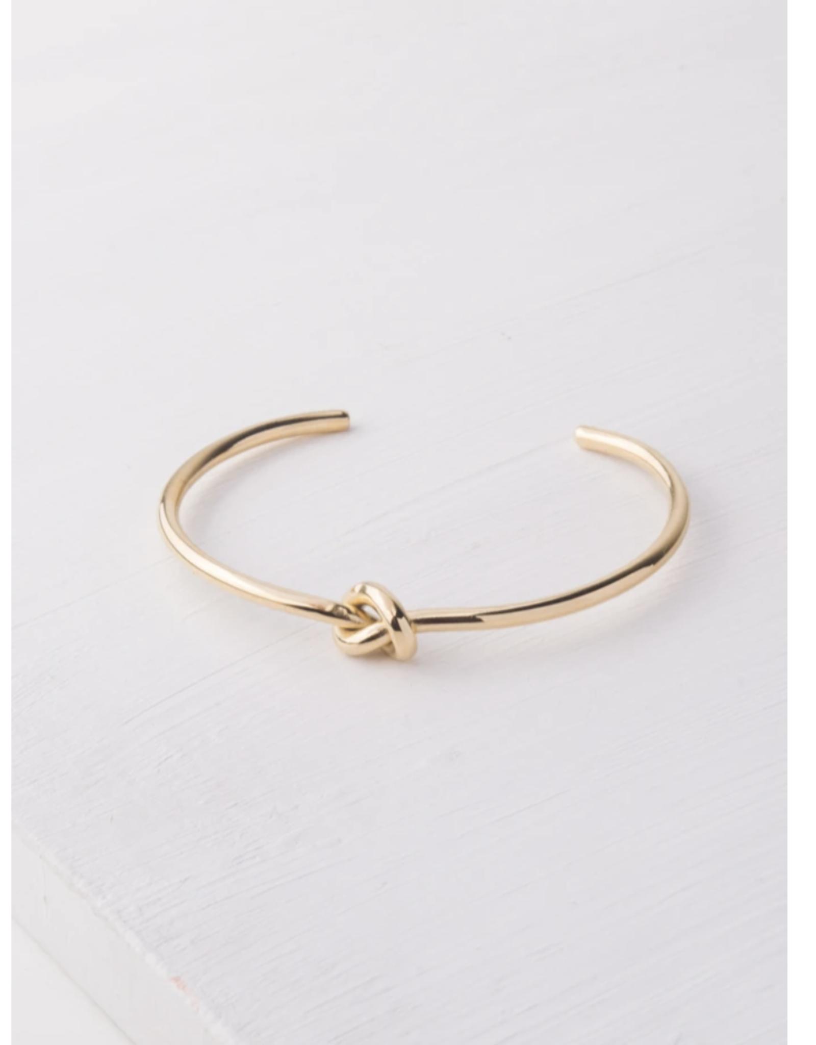 Starfish Project Kathy Knot Gold Bracelet