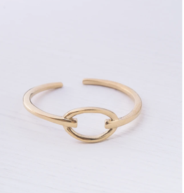 Starfish Project Lisa Gold Knot Ring