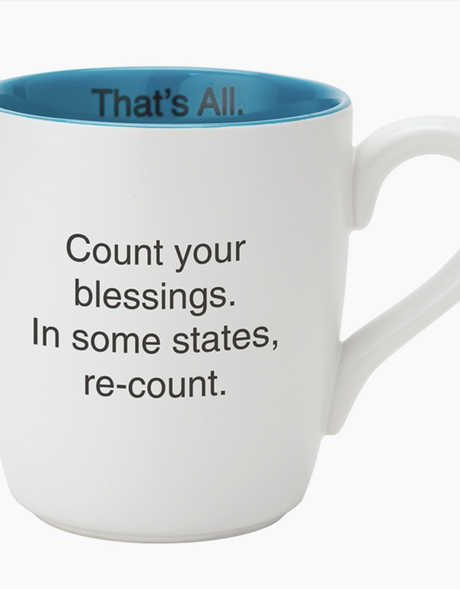 Santa Barbara Count your Blessings Mug