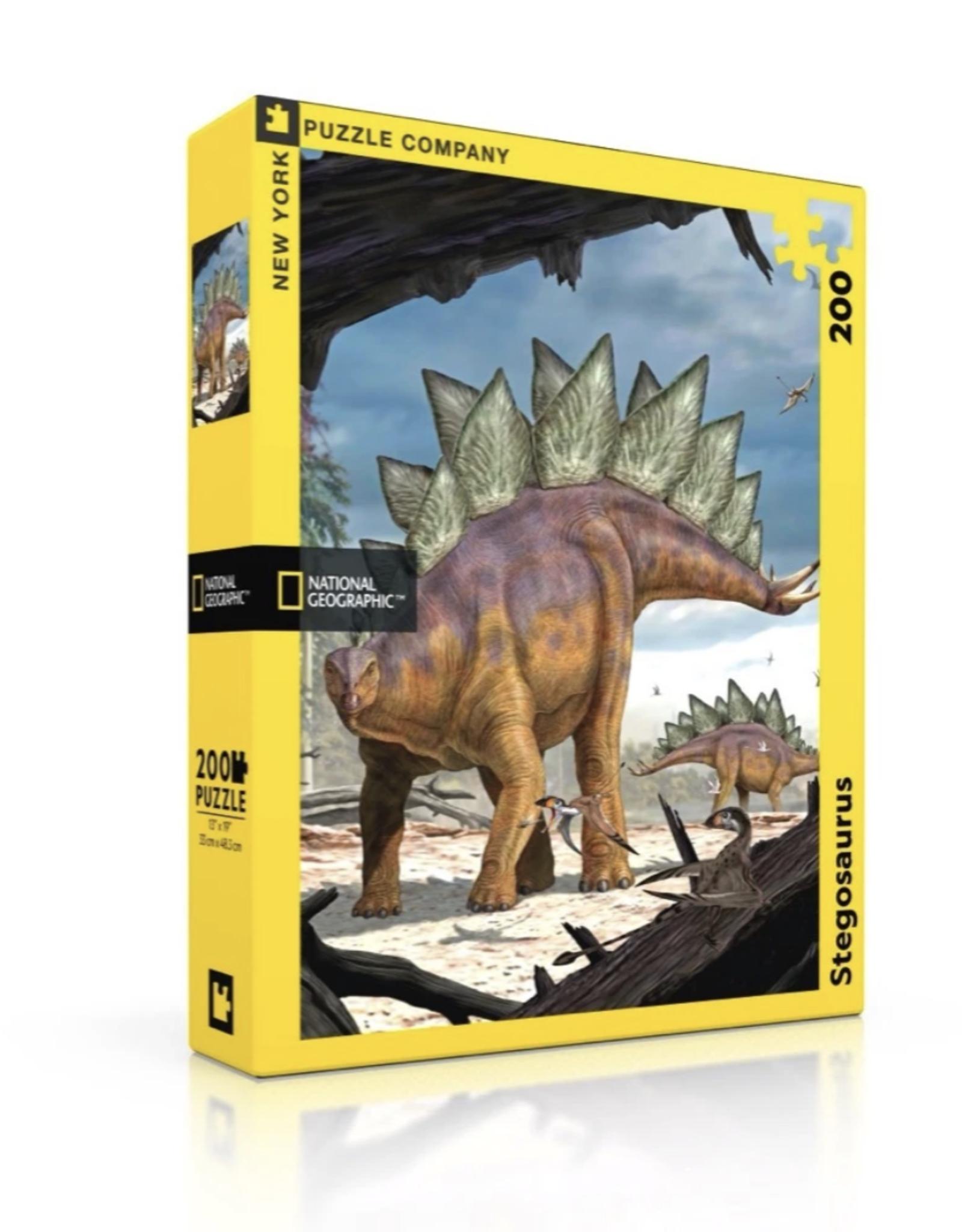 Stegosaurus 200 piece puzzle