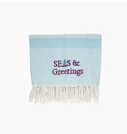 Beachcombers Seas&Greetings Blanket