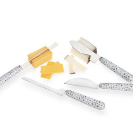 Tiled Pattern Cheese Tool Set