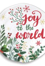 Joy to the world large platter