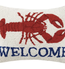 Welcome Lobster Pillow