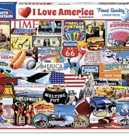 I Love America 1000 piece puzzle