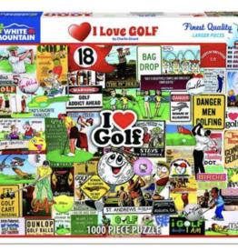 I love golf 1000 piece puzzle