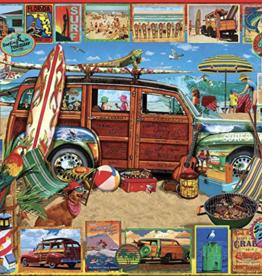 Surfin Woodie 1000 piece puzzle