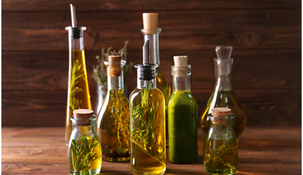 Oils, butters and seasonings