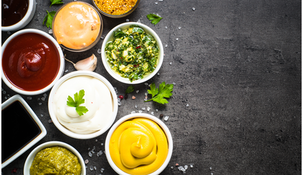 Sweet / savory condiments