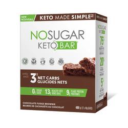 Barres keto No Sugar(unité ou boite)