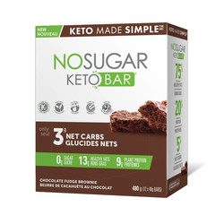 Barres keto No Sugar(unité )