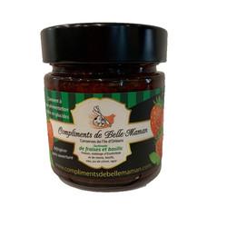 Confitures fraises basilic