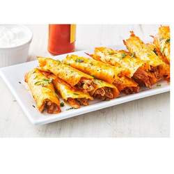 Plat Taquitos de fromage au Poulet avec Riz de Chou-Felur Mexicain 230g