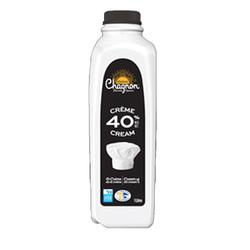 CHAGNON Crème 40% 1L