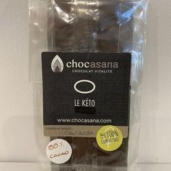 Chocolat noir et bleuet 30g