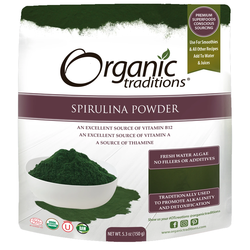 Organic Traditions Spiruline