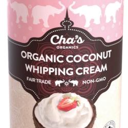 CHA'S ORGANICS Crème de coco à fouetter 400ml