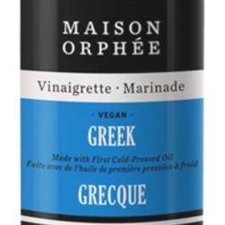 Vinaigrette marinade grecque