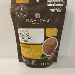 NAVITAS Poudre de cacao keto bio 227g