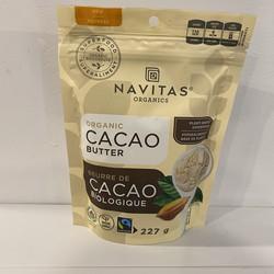 Beurre de cacao bio 227g