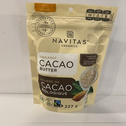 NAVITAS Beurre de cacao bio 227g