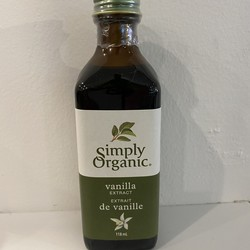 SIMPLY ORGANIC Extrait de Vanille