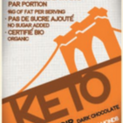 BROOKLYN-KETO Barres de Chocolat 60g