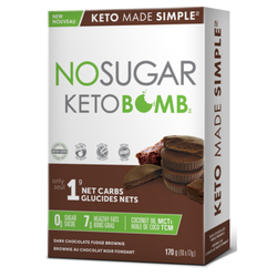 NO SUGAR Keto Bombs brownies 10x17g
