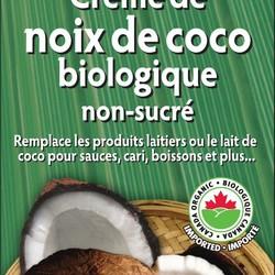 LET'S DO ORGANIC Crème de Noix de Coco Biologique Non-Sucré 200g