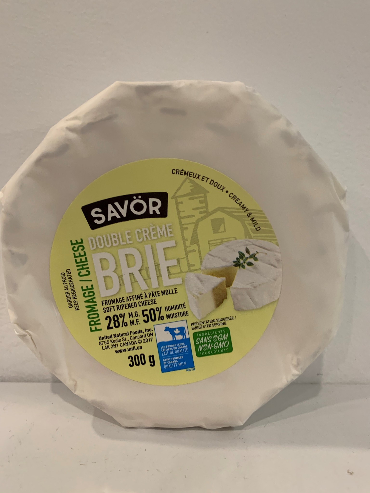 SAVOR Brie Double Cream Cheese 300g