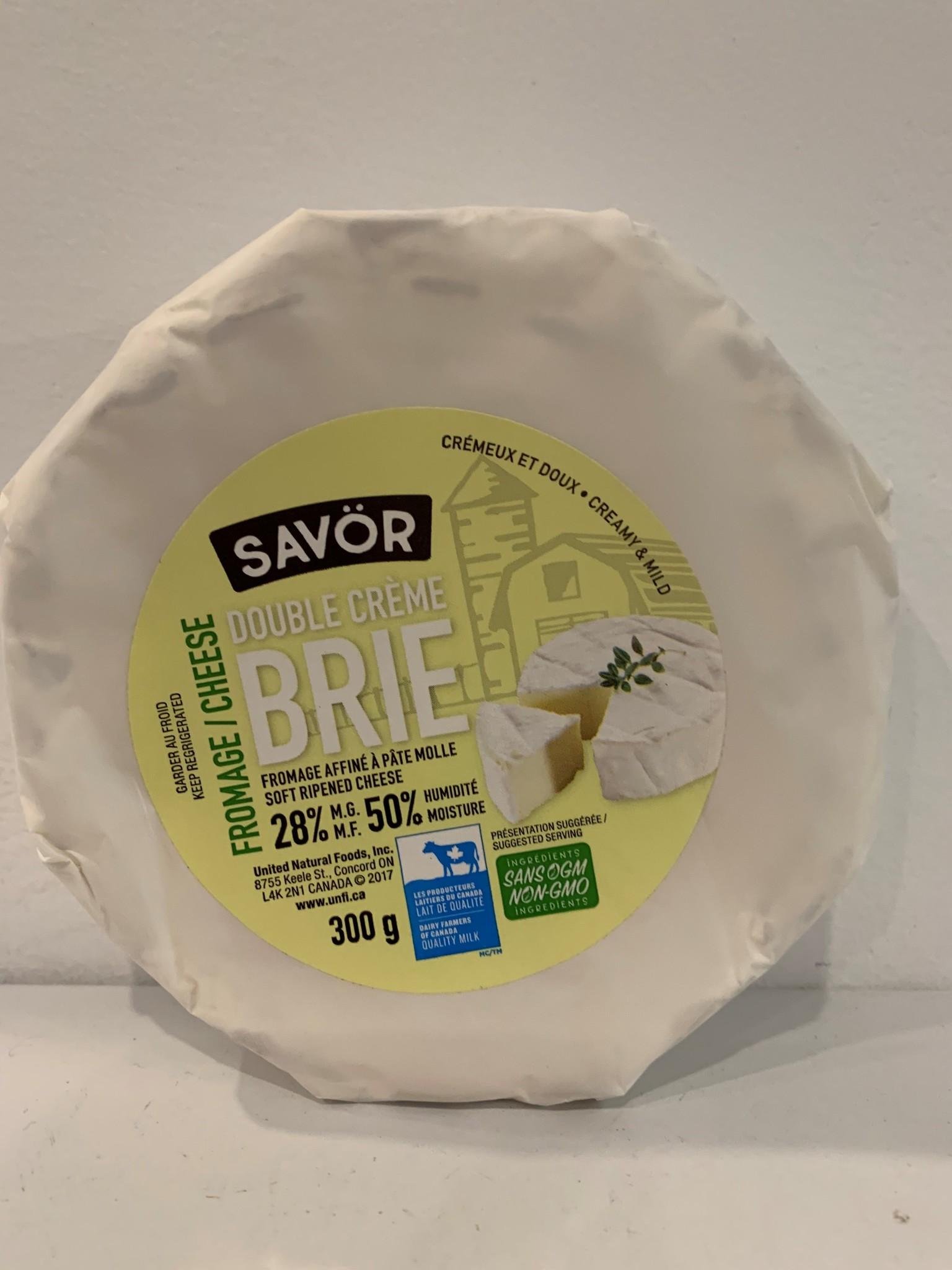 SAVOR Fromage Brie Double Crème 300g