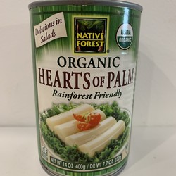 NATIVE FOREST Organic Palm Hearts 220g