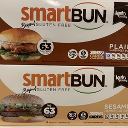 SMART BUN Hamburger Buns (6 pcs) (2 types)