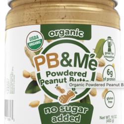 PB & ME Beurre d'Arachide en Poudre Sans sucre 200g
