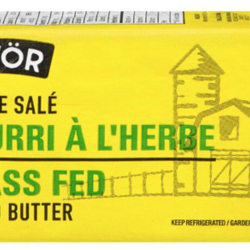 SAVOR Salted butter 250g