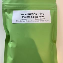 DESTINATION KETO Poudre à Pâte 125g