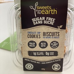 SWEETS FROM THE EARTH Biscuits (2 Saveurs)