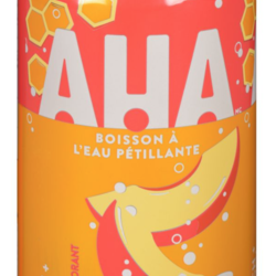 AHA Peach and Honey Sparkling Water Drink 12 cans