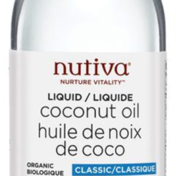 NUTIVA Huile de Noix de Coco Liquide Classique 236ml