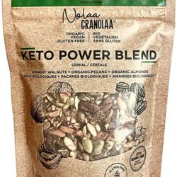 NOLAA GRANOLAA Céréale Keto POWER Blend 130g