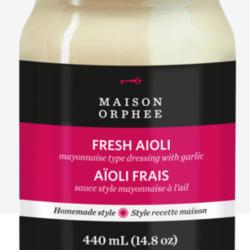 MAISON ORPHÉE Mayonnaise Aioli 440ml