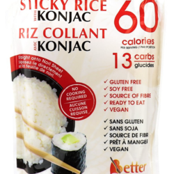 BETTER THAN RICE Konjac (3 types)