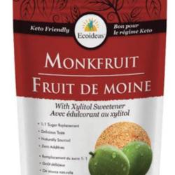 ECOIDEAS Fruit de Moine avec Édulcorant au Xylitol 454g
