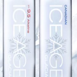 ICE AGE glacier water